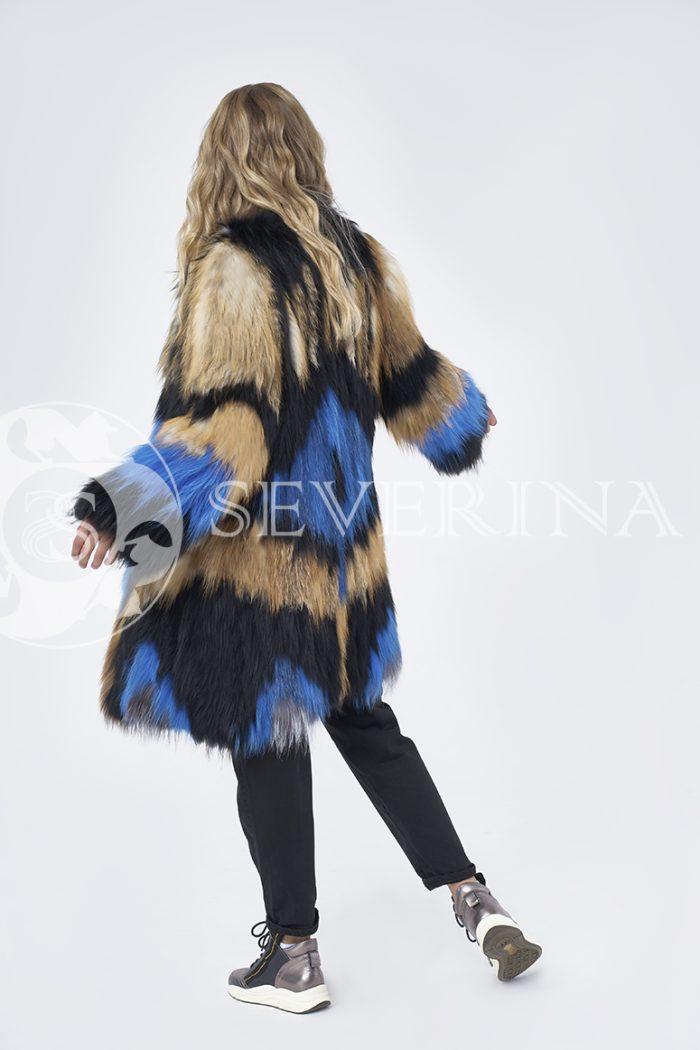 doletskiy 1335 700x1050 - шуба из цветного меха лисы