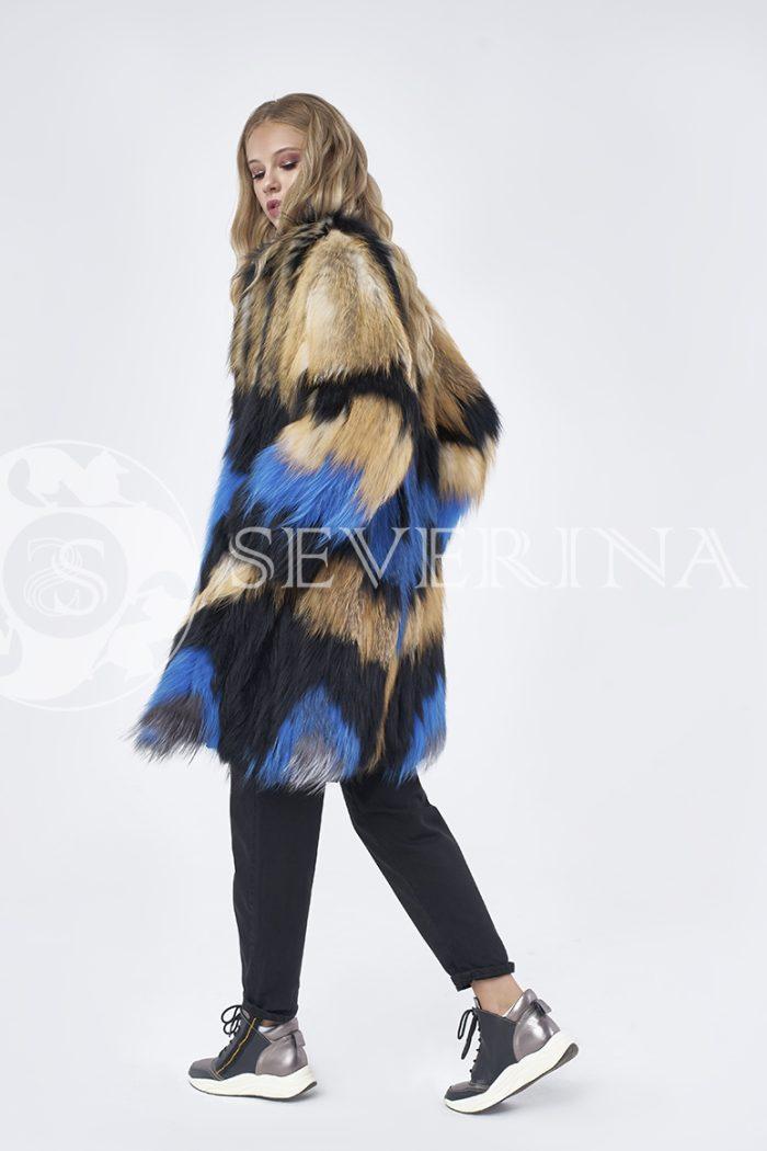 doletskiy 1341 700x1050 - шуба из цветного меха лисы