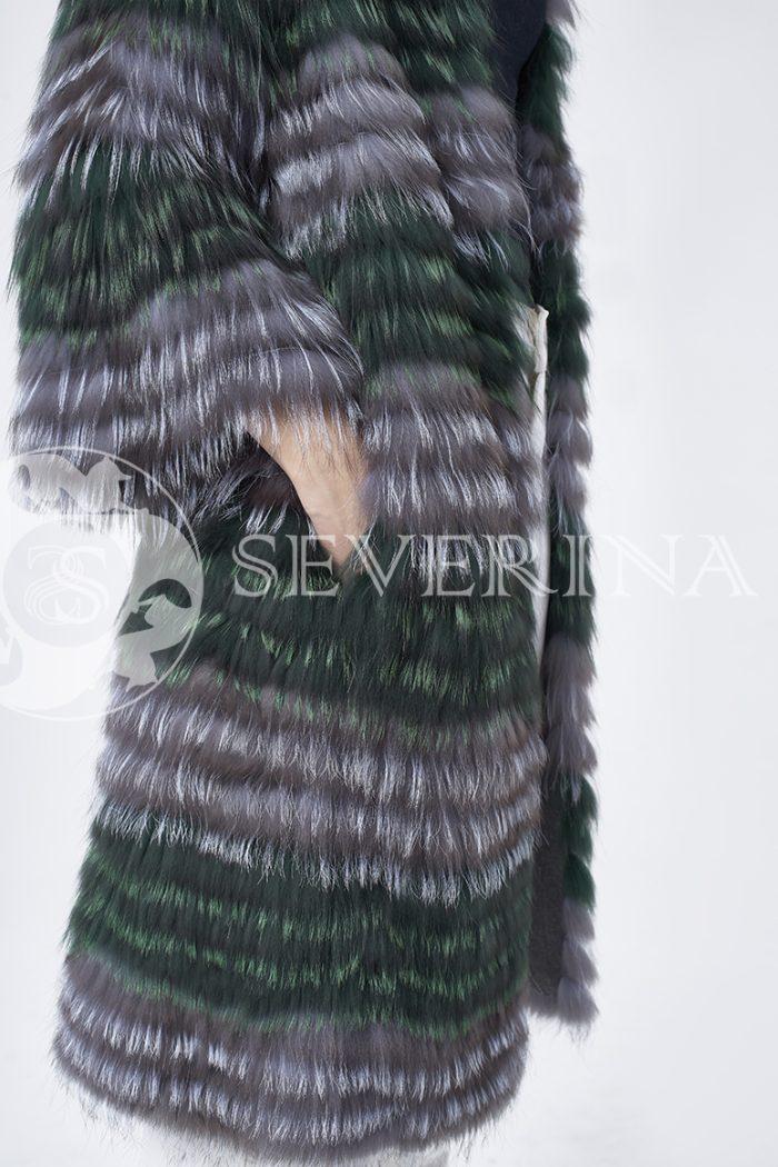 doletskiy 1548 700x1050 - шуба из цветного меха лисы чернобурки