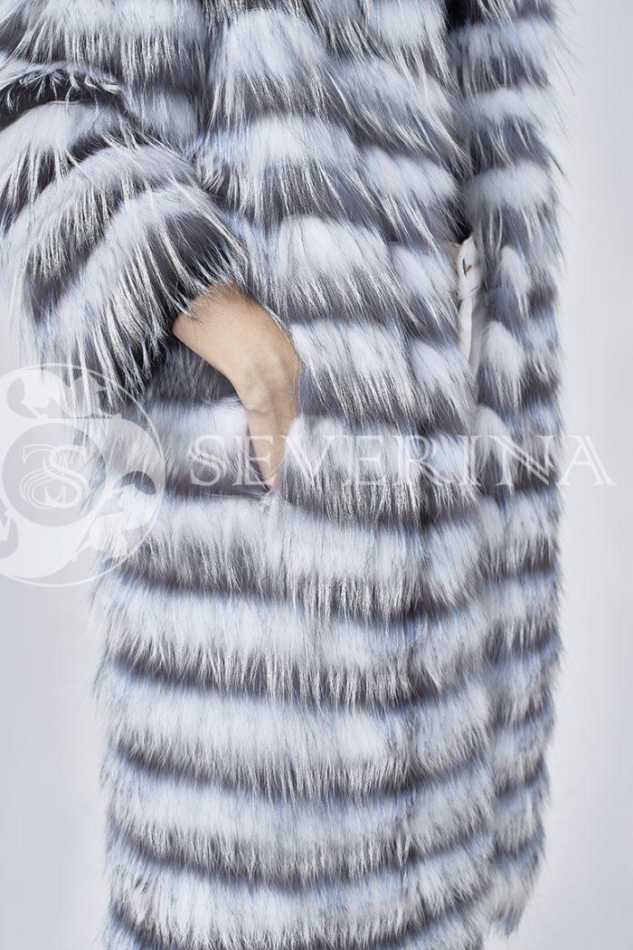 doletskiy 1650 700x1050 - шуба из меха лисы чернобурки и песца