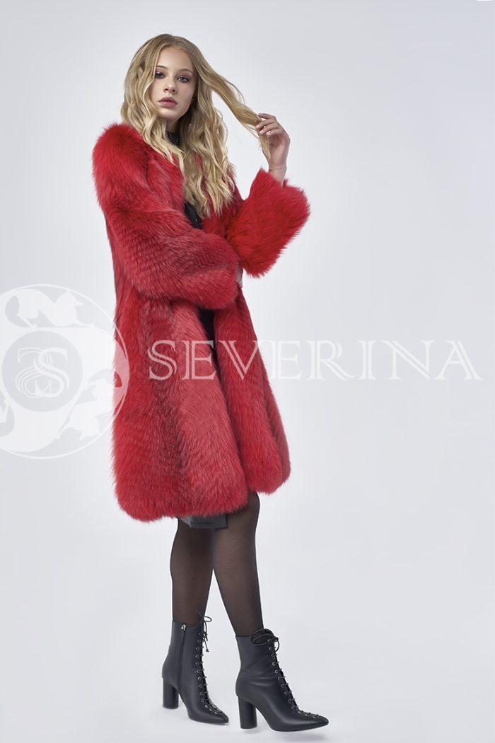 doletskiy 0789 700x1050 - шуба из цветного меха лисы