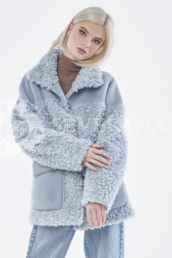 doletskiy 0856 700x1050 - куртка из комбинированного меха овчины