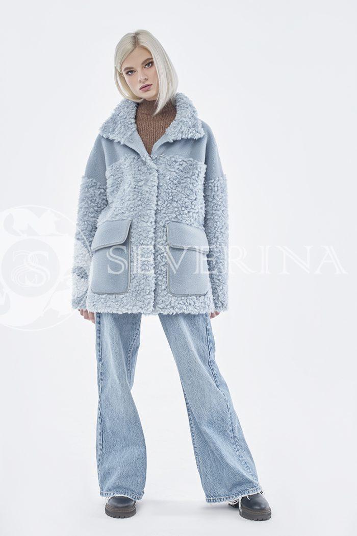 doletskiy 0862 700x1050 - куртка из комбинированного меха овчины