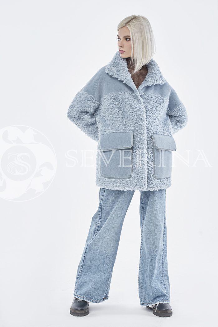 doletskiy 0863 700x1050 - куртка из комбинированного меха овчины