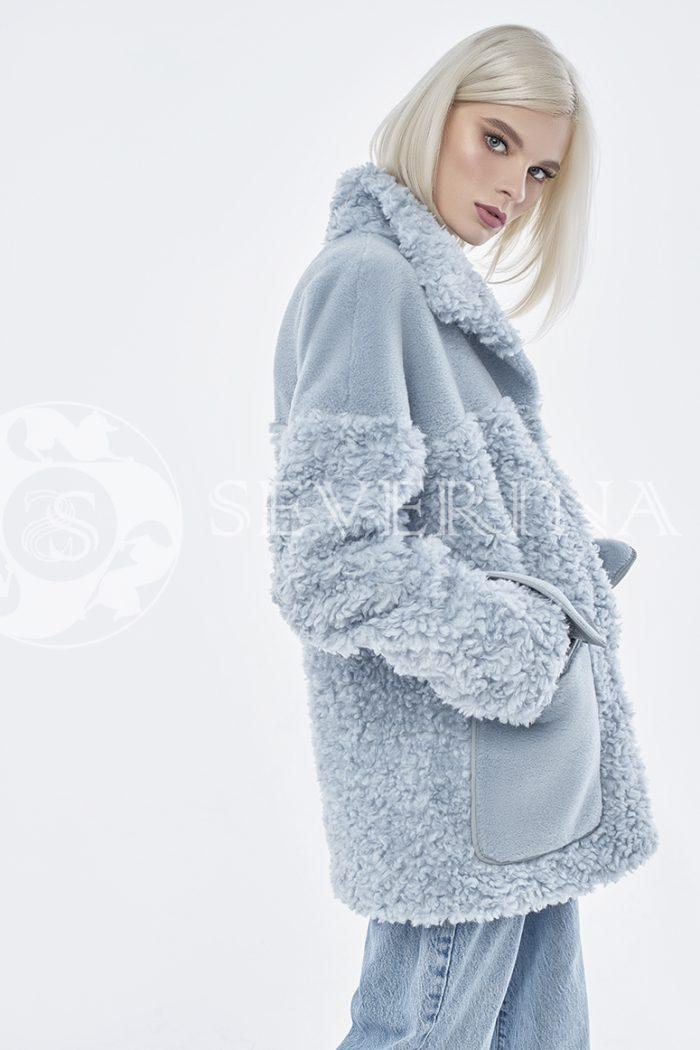 doletskiy 0871 700x1050 - куртка из комбинированного меха овчины