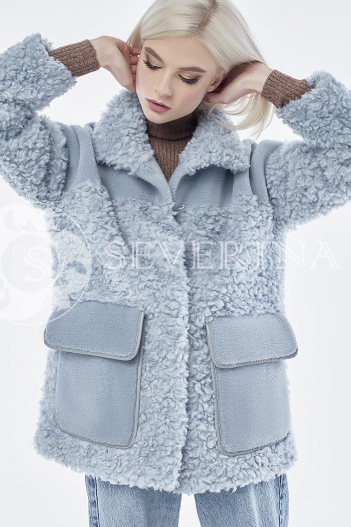 doletskiy 0875 700x1050 - куртка из комбинированного меха овчины