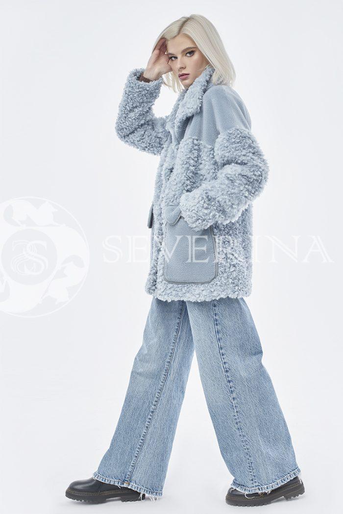 doletskiy 0878 700x1050 - куртка из комбинированного меха овчины