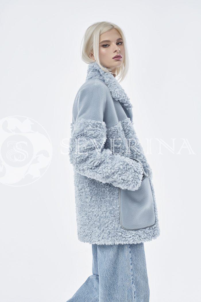 doletskiy 0883 700x1050 - куртка из комбинированного меха овчины