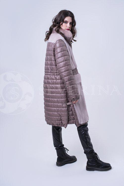 doletskiy 2004 500x750 - куртка удлиненная с отделкой из меха норки