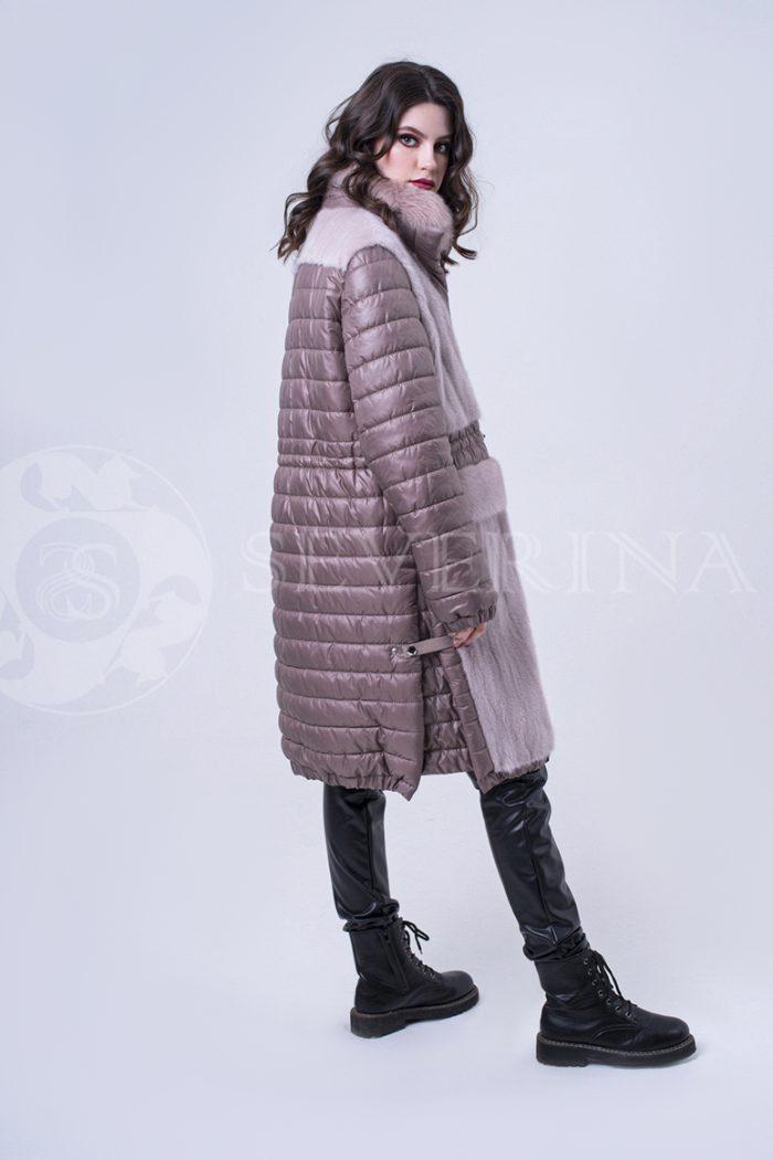 doletskiy 2004 700x1050 - куртка удлиненная с отделкой из меха норки