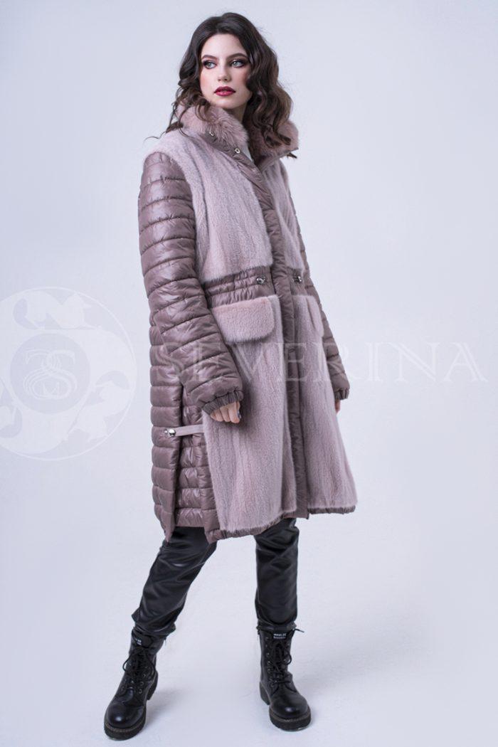 doletskiy 2022 700x1050 - куртка удлиненная с отделкой из меха норки