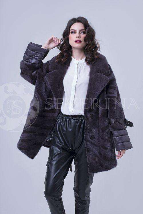 doletskiy 2196 500x750 - куртка с отделкой из меха норки