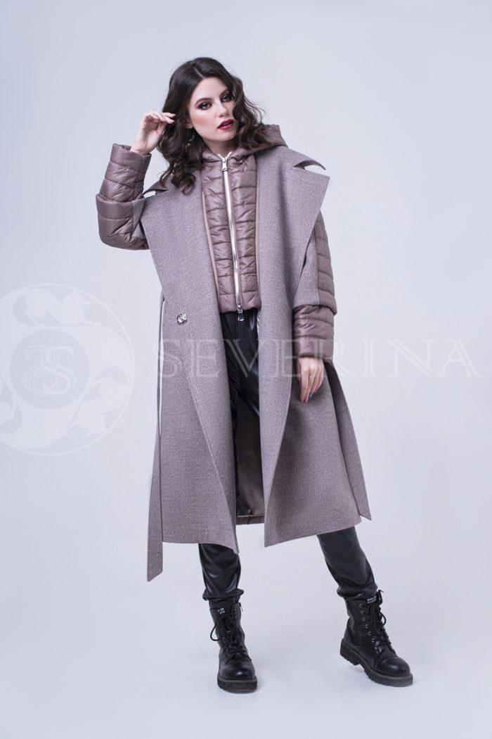 doletskiy 1802 700x1050 - пальто-трансформер стёганое с капюшоном