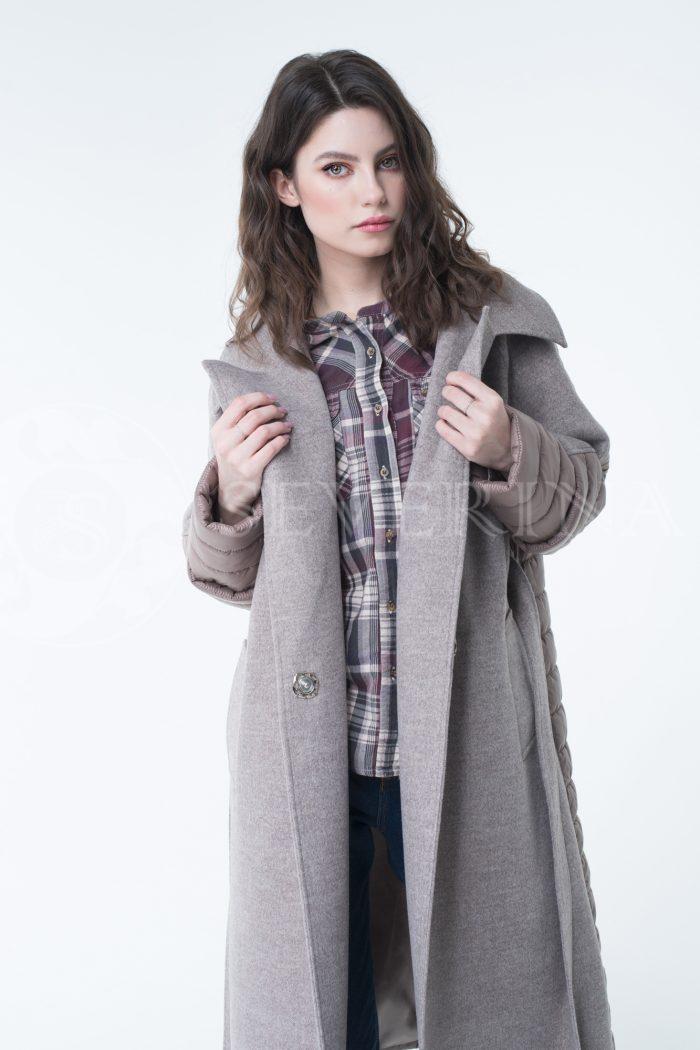 lev300934 700x1050 - пальто-трансформер стёганое с капюшоном