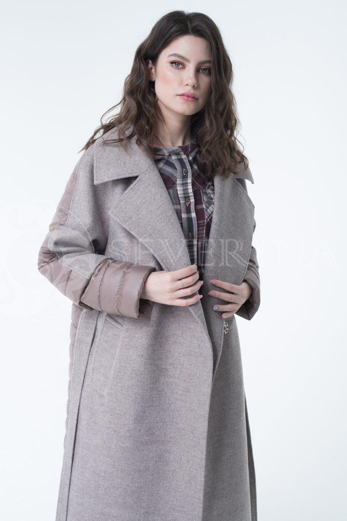lev300935 700x1050 - пальто-трансформер стёганое с капюшоном