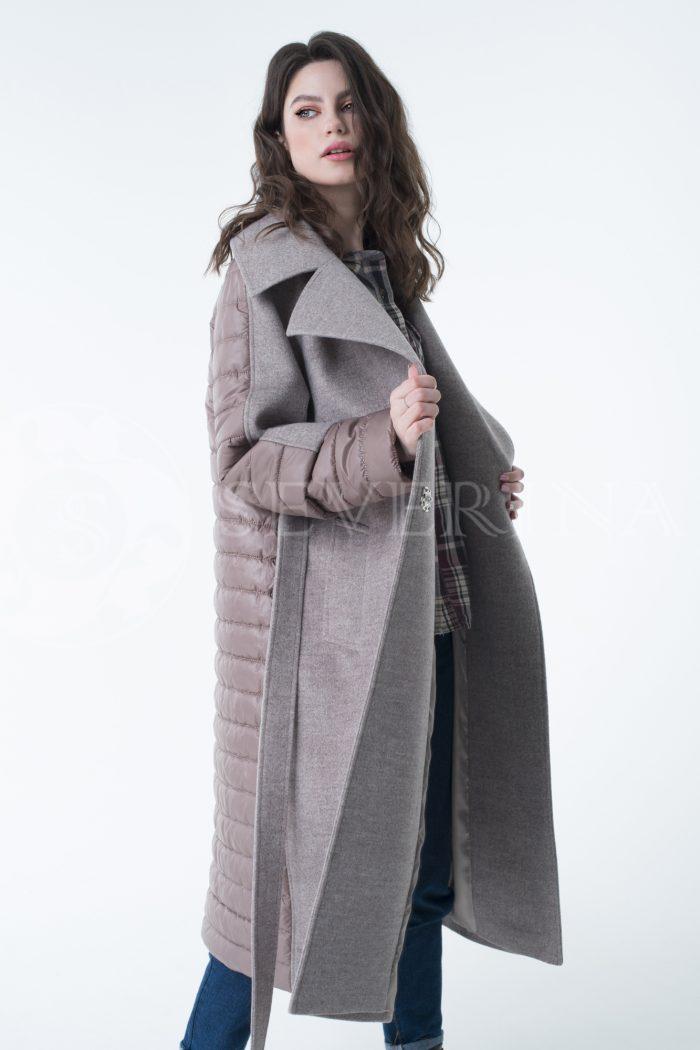 lev300938 700x1050 - пальто-трансформер стёганое с капюшоном