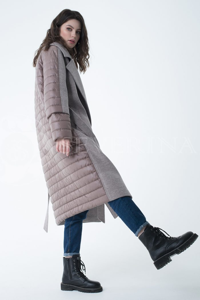 lev300941 700x1050 - пальто-трансформер стёганое с капюшоном