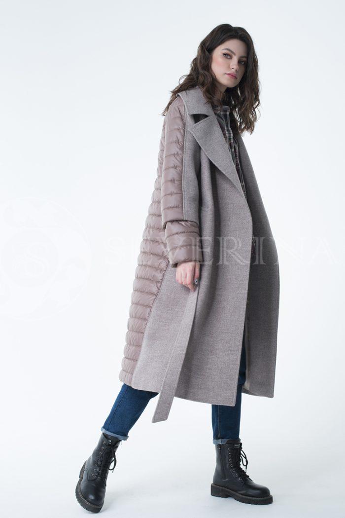 lev300943 700x1050 - пальто-трансформер стёганое с капюшоном