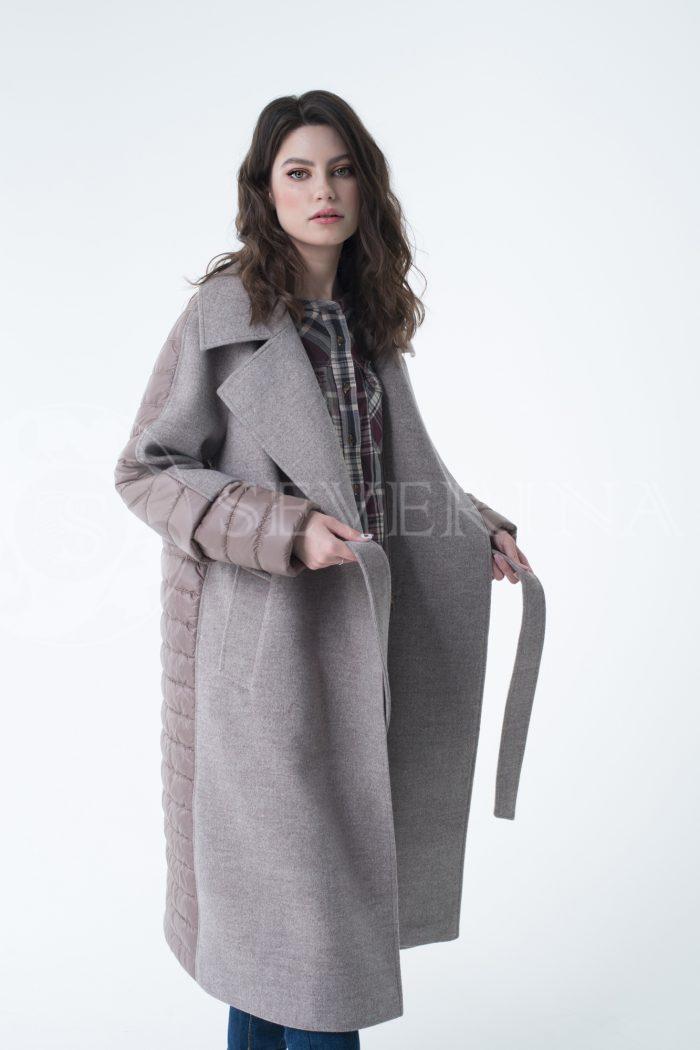 lev300953 700x1050 - пальто-трансформер стёганое с капюшоном