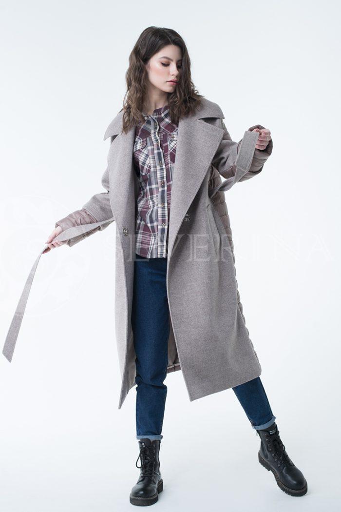 lev300957 700x1050 - пальто-трансформер стёганое с капюшоном
