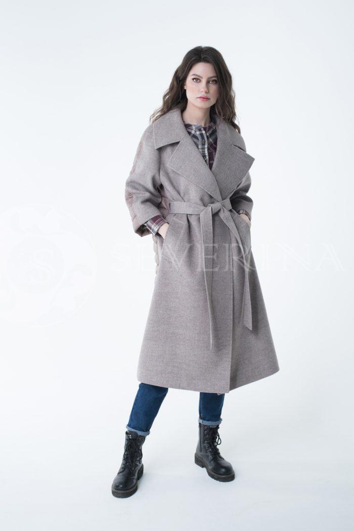 lev300968 700x1050 - пальто-трансформер стёганое с капюшоном
