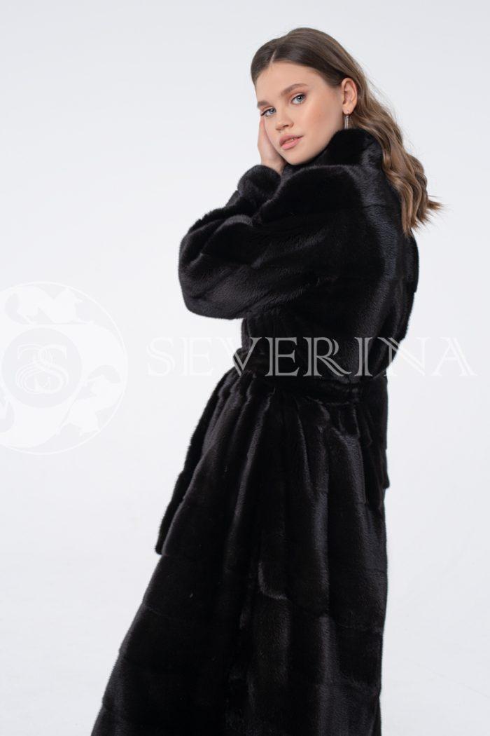 """norka chernaja 1 700x1050 - шуба из меха канадской норки в цвете """"черный бриллиант"""""""