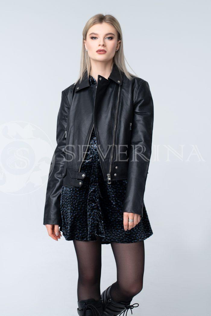 """doletskiy 0650  700x1050 - куртка из натуральной кожи """"косуха"""""""