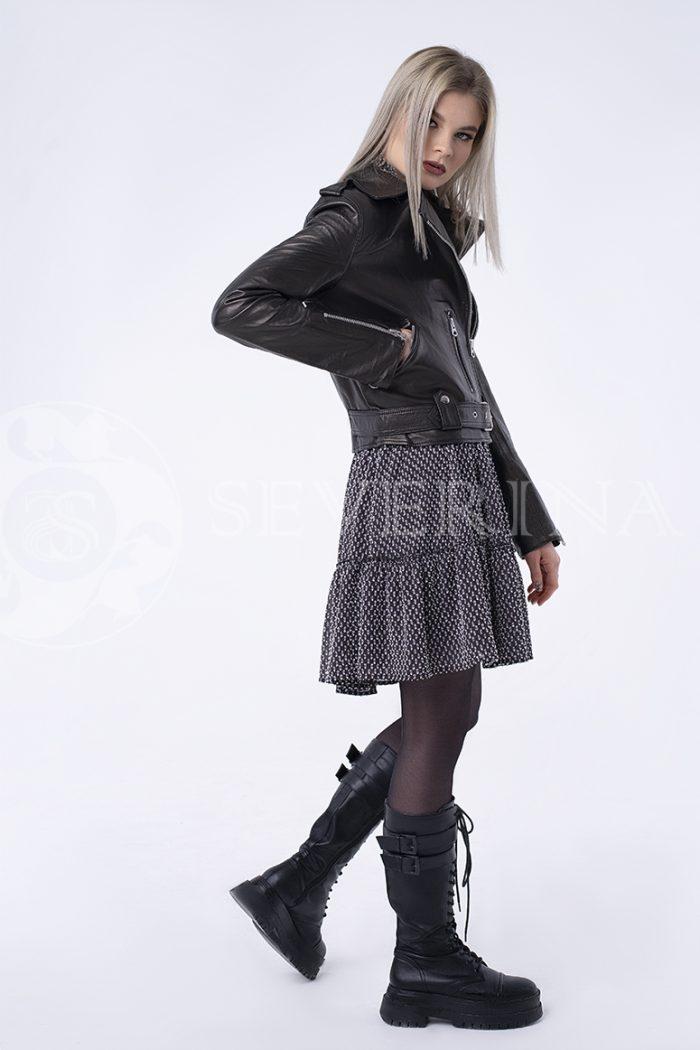 """doletskiy 11457 700x1050 - куртка из натуральной кожи """"косуха"""""""