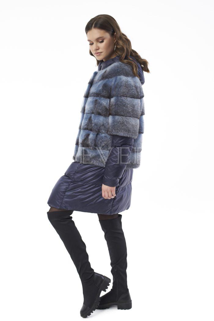 palto steganoe s norkoj 1 700x1050 - пальто стёганое со съемной отделкой мехом норки-крестовки