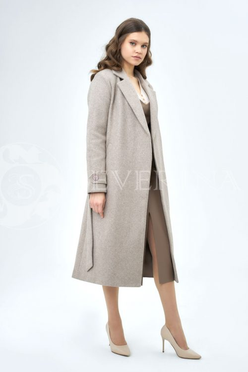 bezhevoe palto 500x750 - пальто классическое кофейного цвета