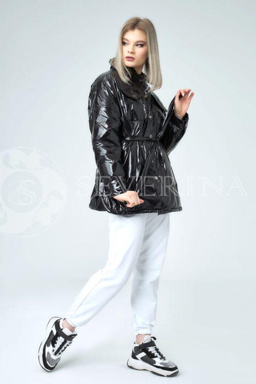 chernaja lake 500x750 - куртка-рубашка из утепленной плащевки лаке