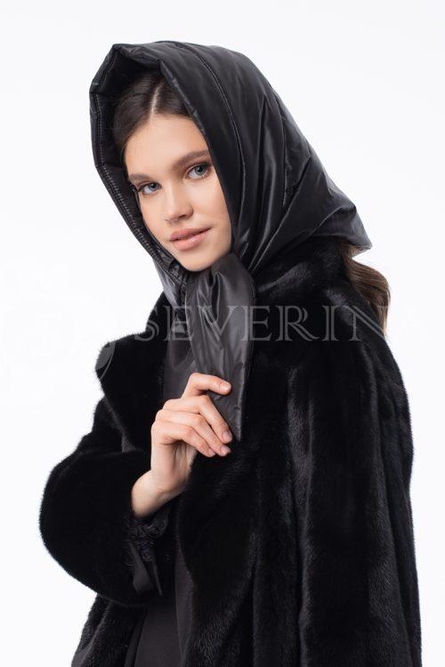 kosynka steganaja 500x750 - пальто-рубашка из мягкой ткани голубого цвета