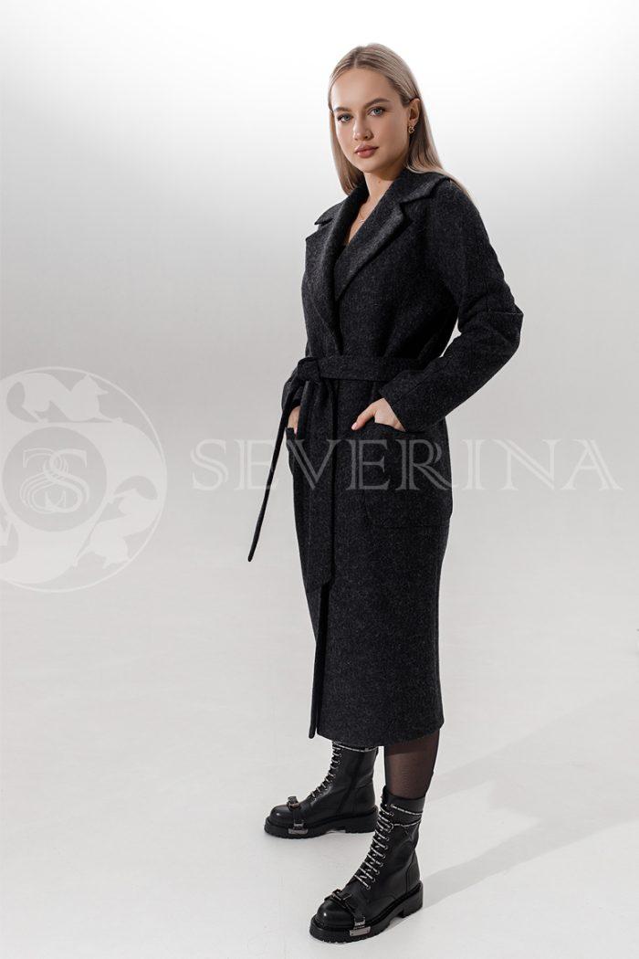 palto antracit 700x1050 - пальто классическое в цвете антрацит