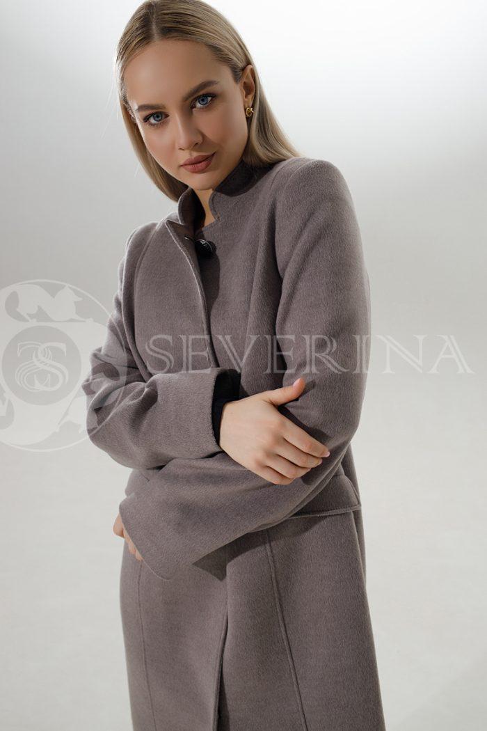 palto kapuchino 700x1050 - пальто классическое кофейного цвета