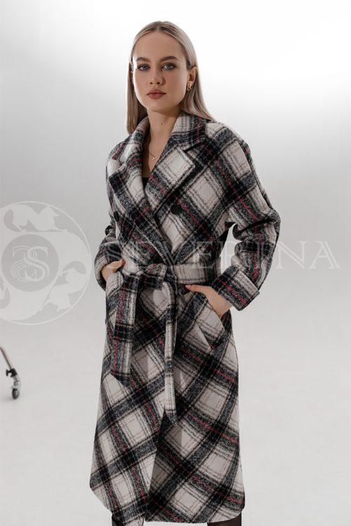 palto kletka belo cherno rozovaja 500x750 - пальто классическое в клетку