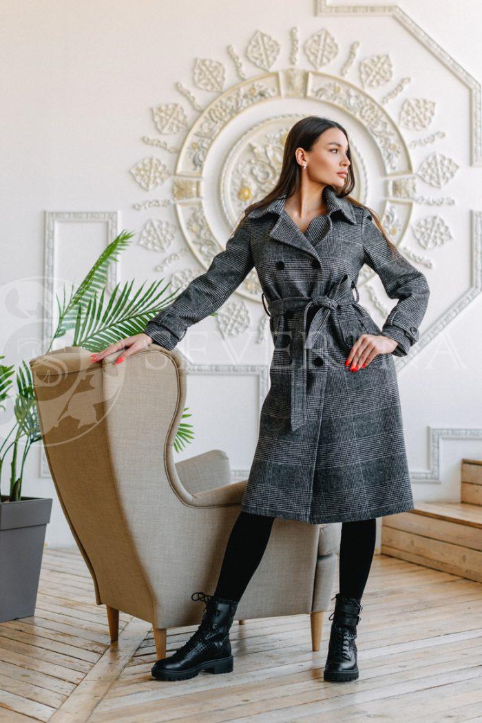 palto kletka glenchek 700x1050 - пальто классическое в клетку