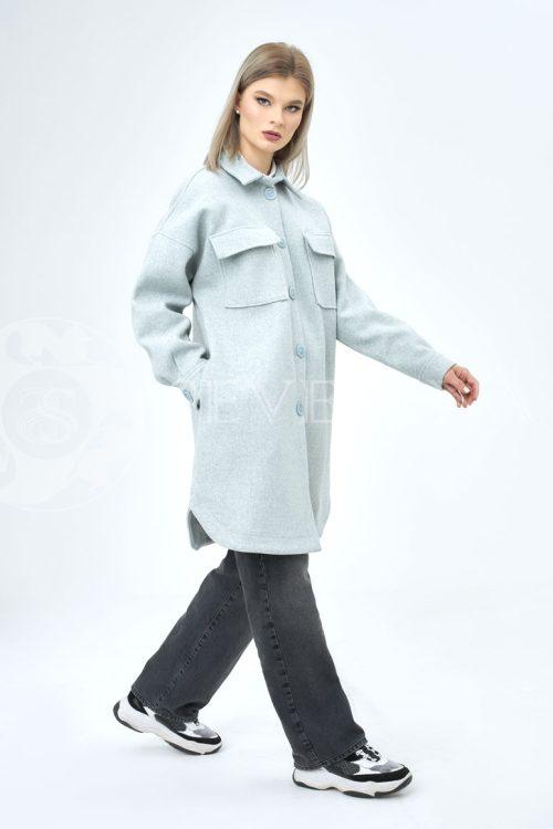 palto rubashka mjata 500x750 - пальто-рубашка из мягкой ткани голубого цвета