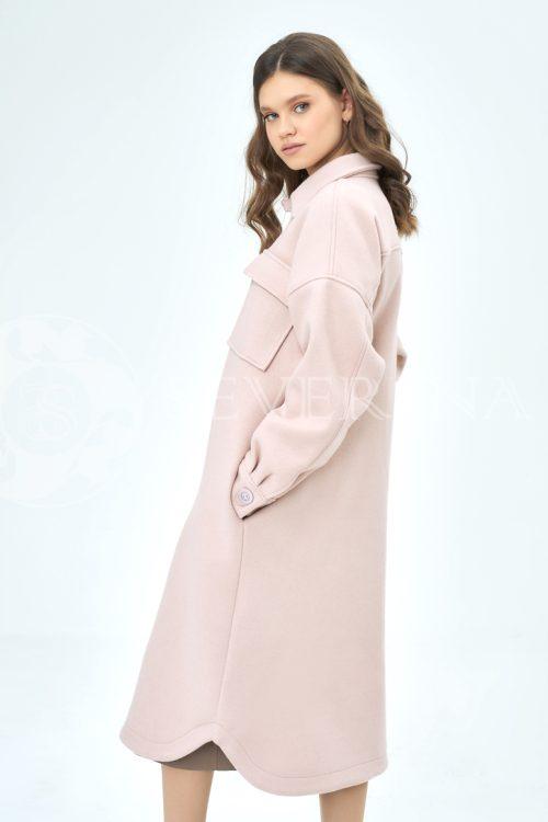 palto rubashka pudra 2 500x750 - пальто-рубашка из мягкой ткани пудрового цвета