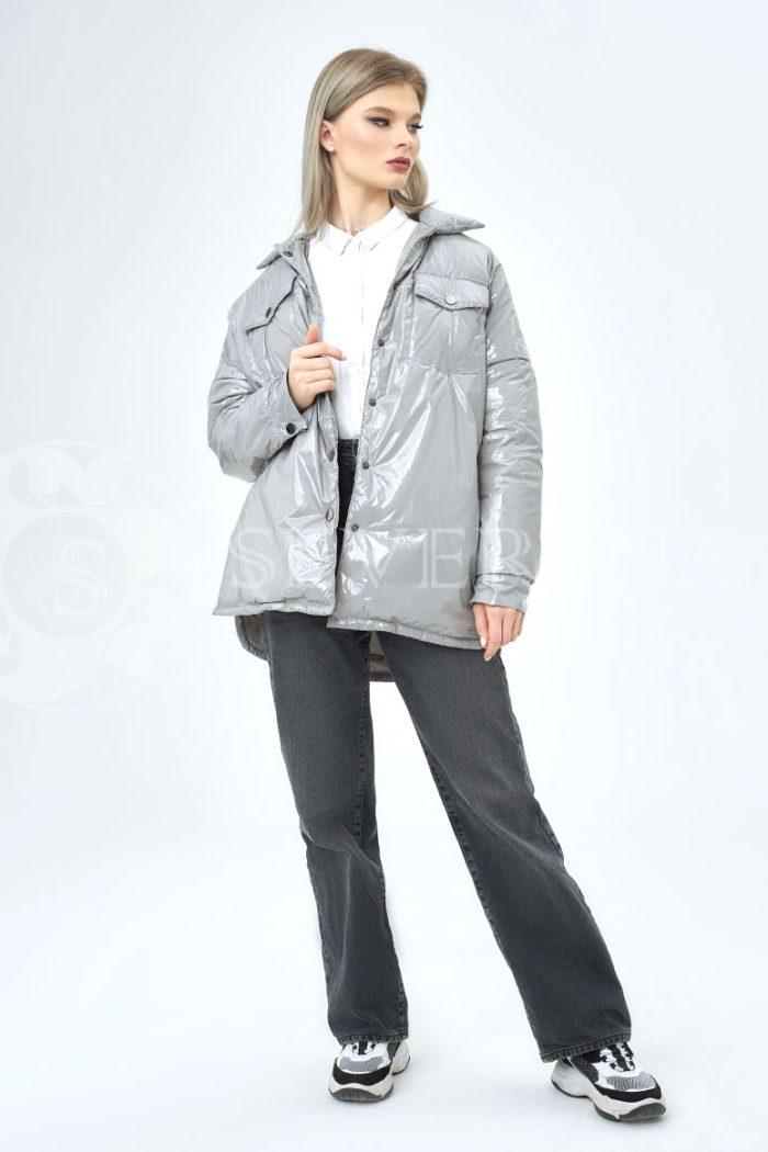 seraja lake 700x1050 - куртка-рубашка из утепленной плащевки лаке