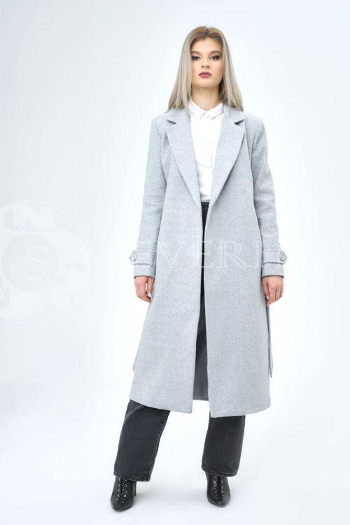 seroe palto 500x750 - пальто классическое серого цвета