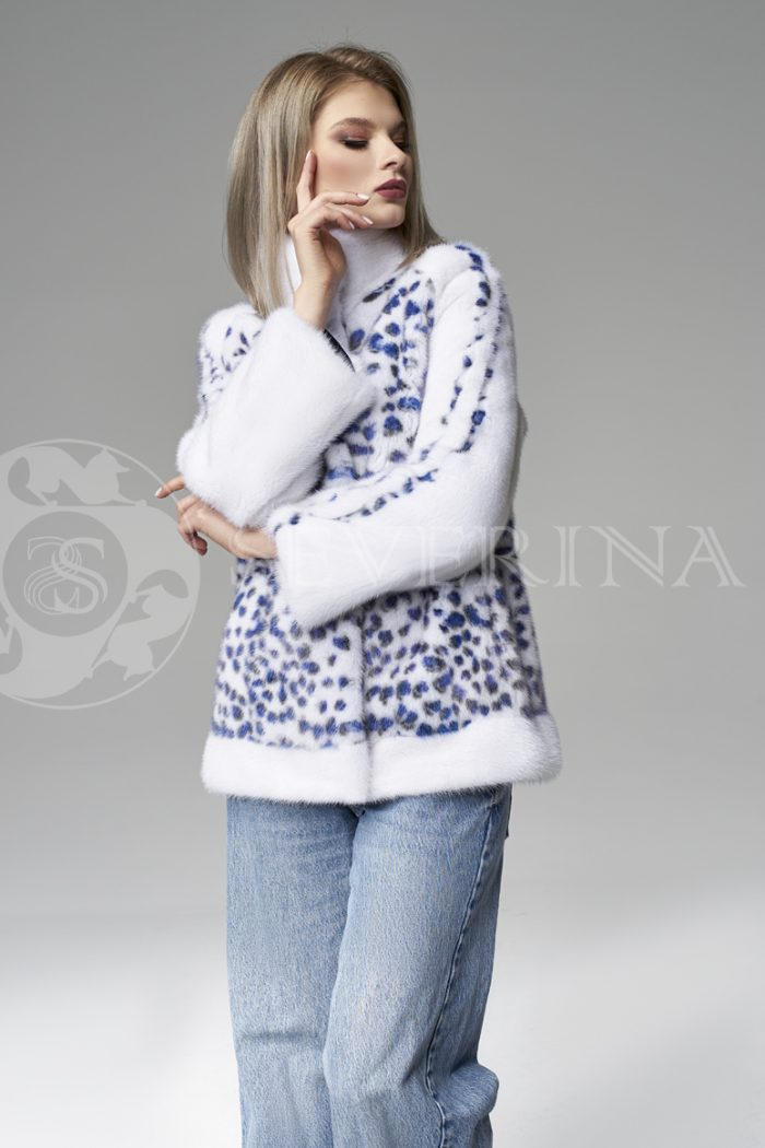 shuba korotkaja norka belaja sinij leopard 1 700x1050 - шуба из меха норки white с анималистичным принтом