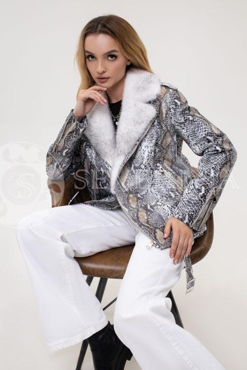 kosuha piton norka 500x750 - куртка с отделкой мехом норки