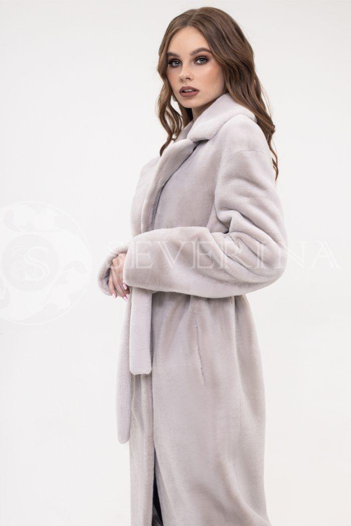 palto jekomeh seroe 700x1050 - пальто из экомеха