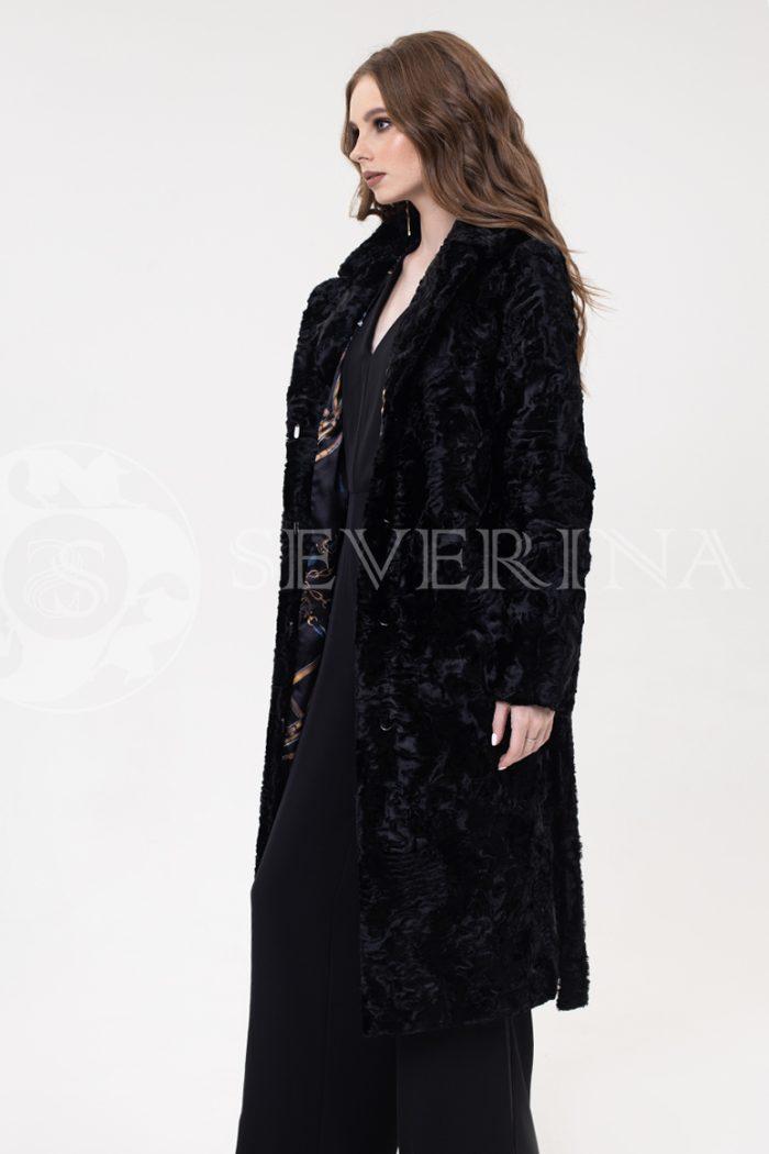 palto jekomeh karakul chernoe 1 700x1050 - пальто из экомеха с имитацией каракуля