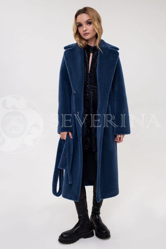 palto jekomeh sinee 700x1050 - пальто из экомеха